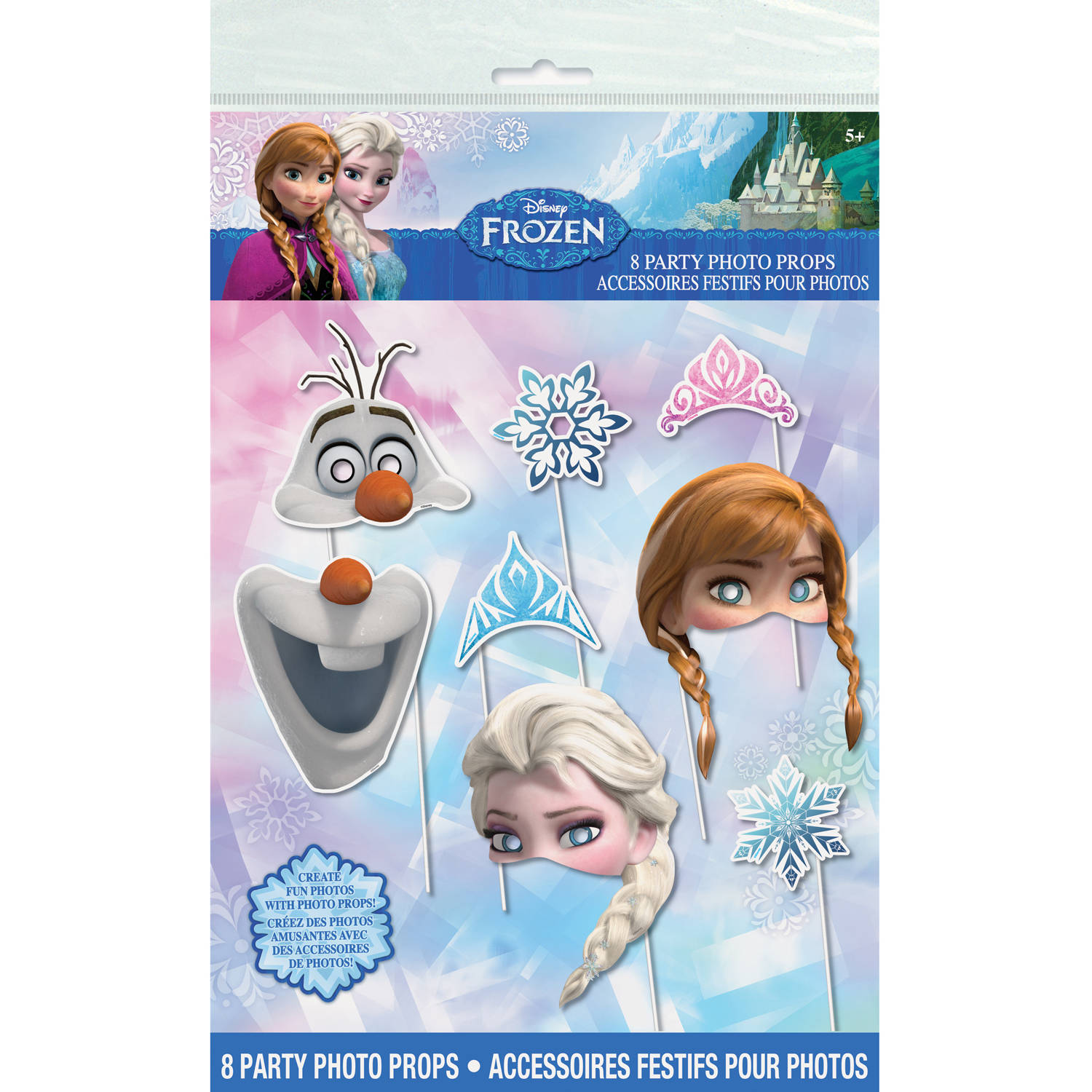 Disney Frozen Photo Booth Props, 8pc