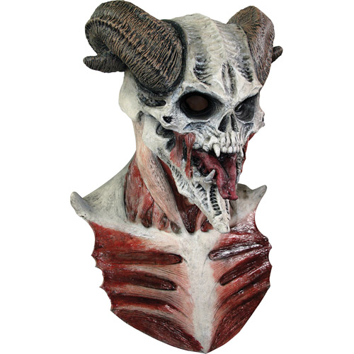 Devil Skull Adult Halloween Mask Accessory