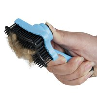 Pet Dog Cat Hair Fur Brush Comb Hair Removal Brush Comb for Pet Dogs Cats One Button Control