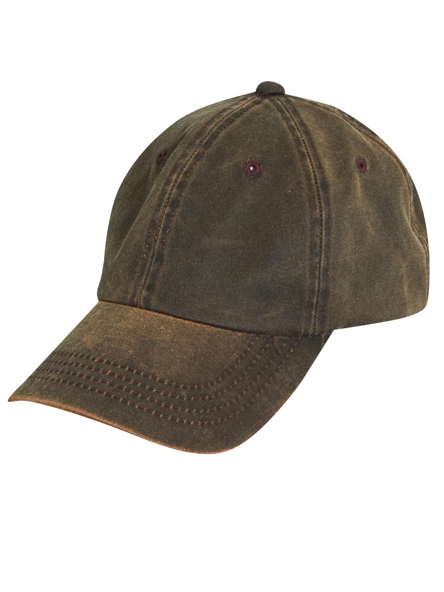 522fbf5c Size one size Weathered Cotton UPF 50 Adjustable Baseball Hat - Walmart.com