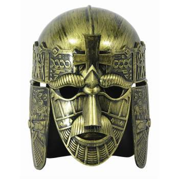 MEDIEVAL FACE WARRIOR HELMET](Novelty Helmet)