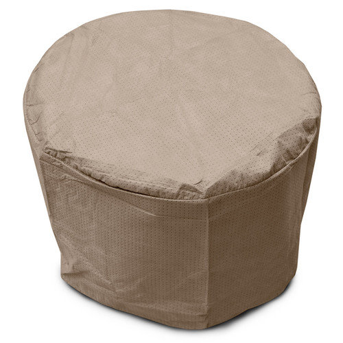 KoverRoos KoverRoos III 22 in. Taupe Round Table Cover