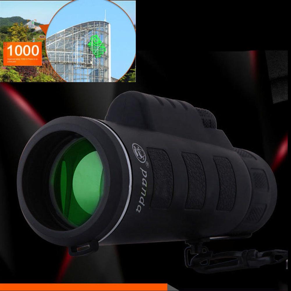 Womail Super High Power 40X60 Portable HD OPTICS BAK4 Night Vision Monocular Telescope by