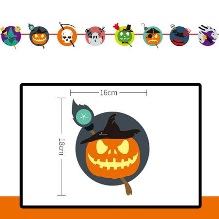 Best Halloween Themed Desserts (JuDan Pull Flower Theme Long Hanging nting Banner for Halloween)