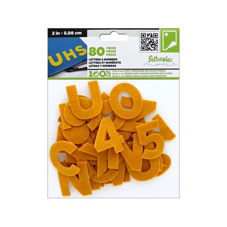 Felt Number - CPE Stick It Felt Letters & Numbers 2