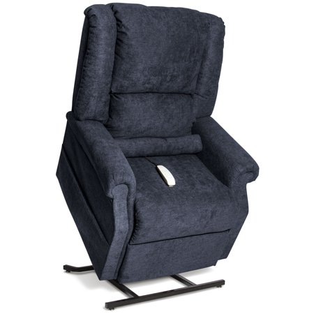 infinite position power lift chair recliner navy curbside delivery