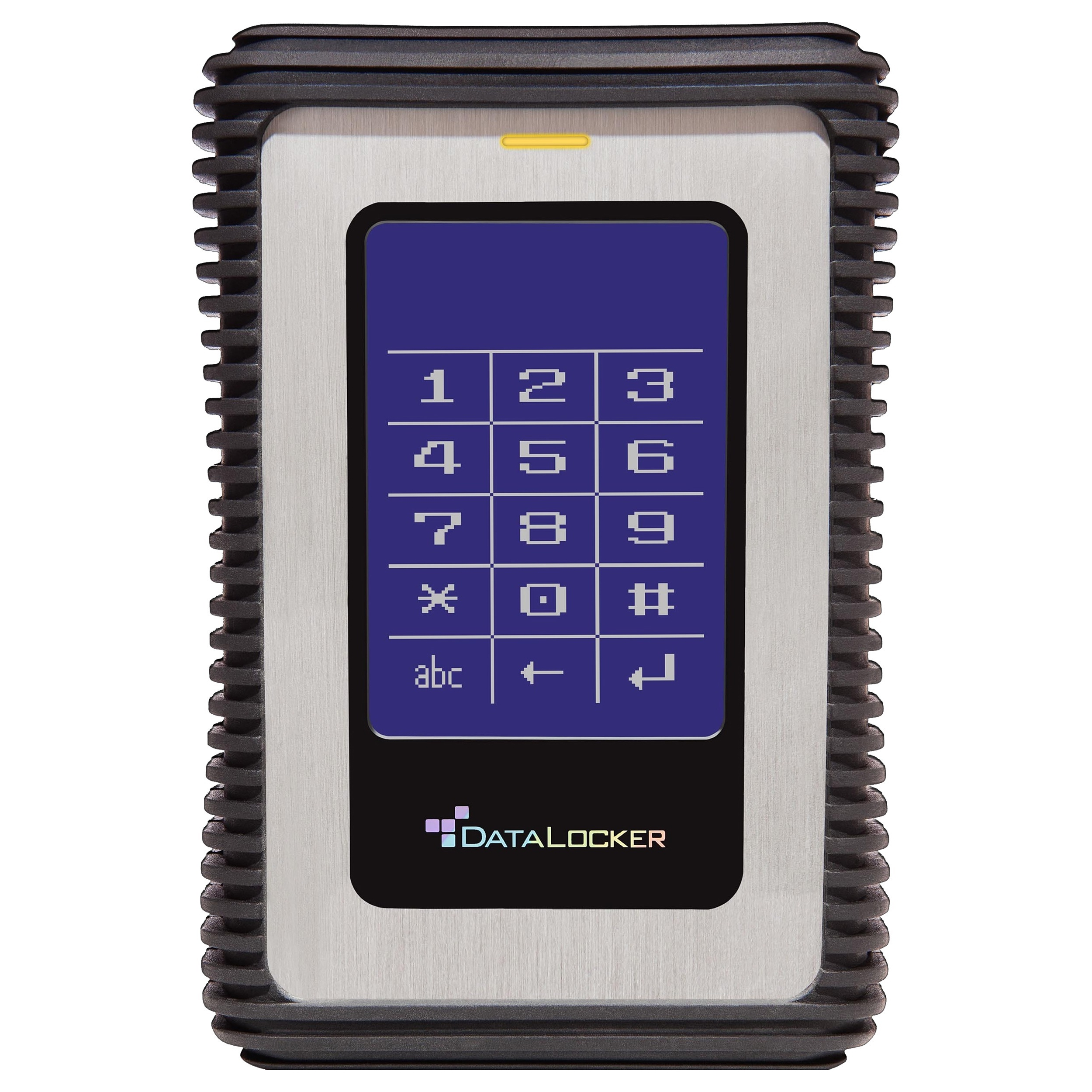 DataLocker DL3 1.5 TB Encrypted External Hard Drive with RFID Two-Factor Authentication - USB 3.0 256-bit AES XTS mode