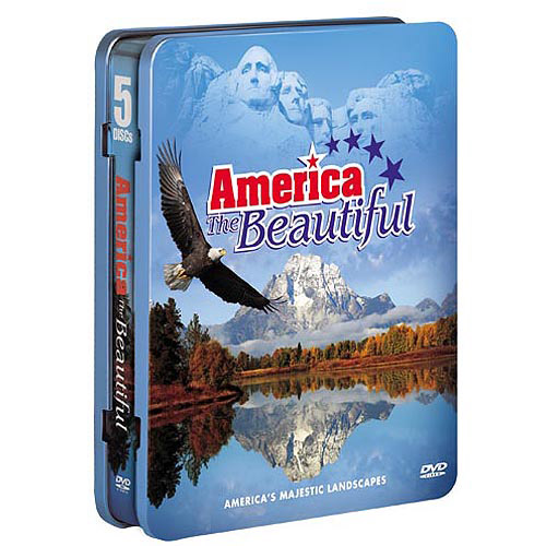 America The Beautiful (4-Pack   Audio CD) (Tin) (Widescreen)