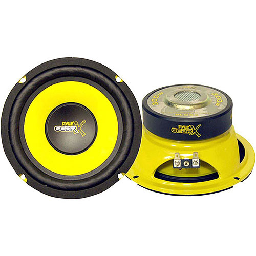 "Pyle Gear X Series 6.5"" 300W Mid-Bass Woofer"