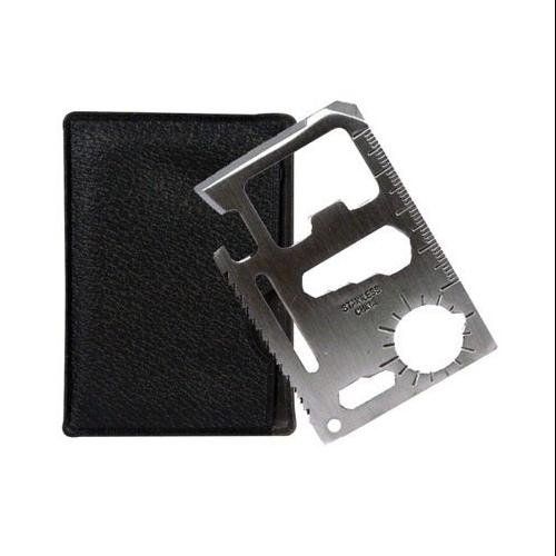 SURVIVAL TOOL CREDIT CARD SIZED EMERGENCY 11 IN 1 CASE CAMP SPORTS New by SONA ENTERPRISES