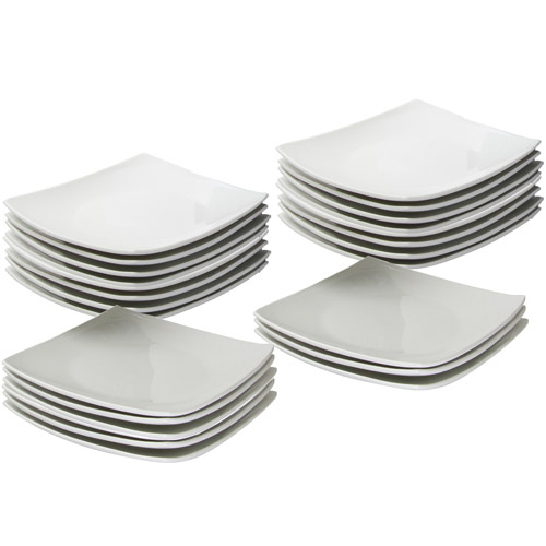 \ 10 Strawberry Street 24-Piece 6\ \  Coupe Square Appetizer Plates White\   sc 1 st  Corporate Perks Lite Perks at Work & 10 Strawberry Street 10.5\