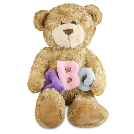 Gitzy ABC Teddy Bear Pastel 12
