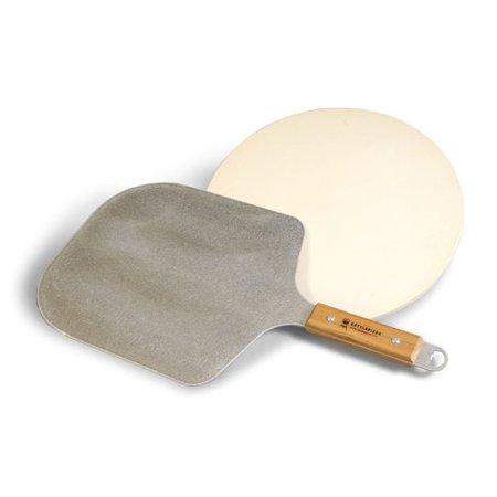 KettlePizza Pro Peel and Cordierite Stone Kit