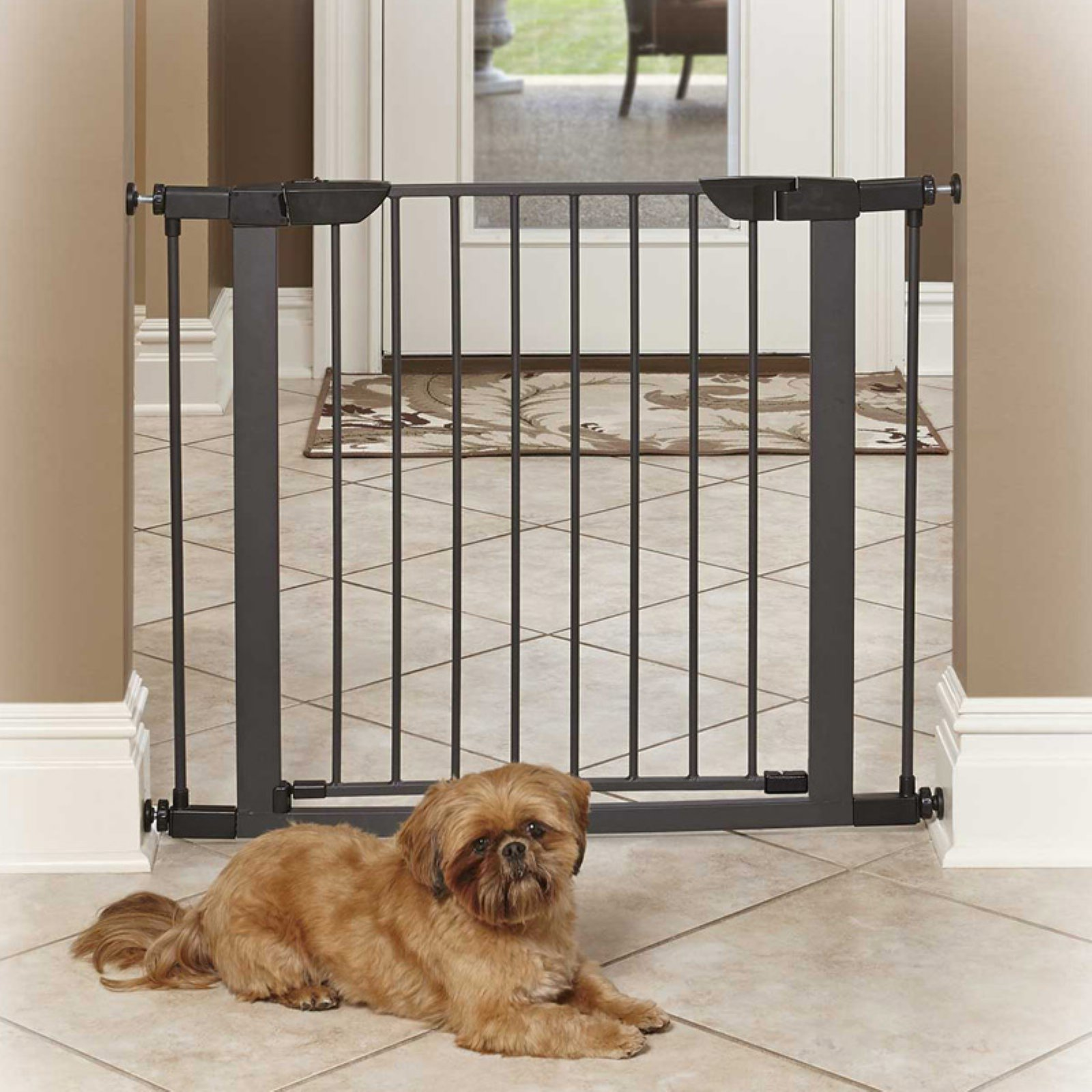 midwest home for pets steel pet gate 295 in these products include dog crates training puppy crates dog kennels cat playpens bird cages