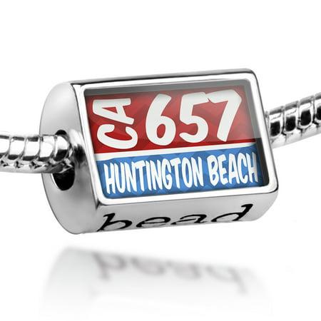 Bead 657 Huntington Beach, CA red/blue Charm Fits All European - Party City Huntington Beach Ca