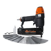 WEN 18-Gauge 3/8-Inch to 2-Inch Pneumatic Brad Nailer with 2000 Nails