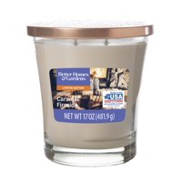 Better Homes & Gardens Scented Jar Candle – Smoked Caramel Fireside, 17 oz. – Single