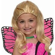 Mariposa Barbie Child's Long Blonde Dress Up Costume Wig