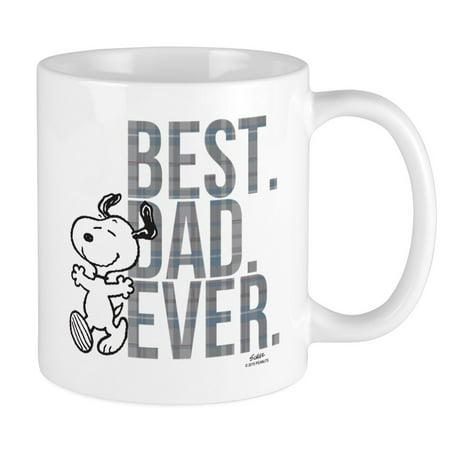 CafePress - Snoopy Best Dad Ever Mug - Unique Coffee Mug, Coffee Cup