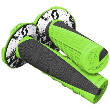 Scott USA 219627-4376 Deuce II MX/ATV Grips - Neon (Scott Usa Grips)