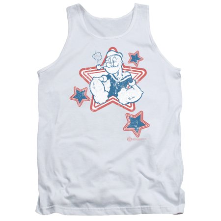 Popeye Stars Mens Tank Top Shirt