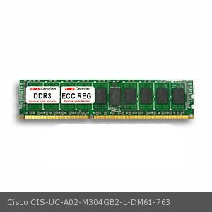 DMS Compatible/Replacement for Cisco UC-A02-M304GB2-L UCS C210 M2 General-Purpose Rack-Mount Server 4GB DMS Certified Memory DDR3-1333 (PC3