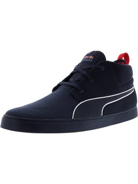 a4fa073724d5fe Product Image Puma Men s Red Bull Racing Desert Boot Vulc Total Eclipse    Chinese Mid-Top Suede