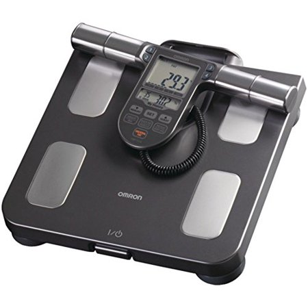 Omron HBF514C Full-Body Sensor Body Composition Monitor & Scale W/ 90 Day Memory Consumer Electronics