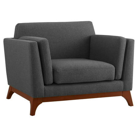 Modway Chance Fabric Upholstered Armchair, Multiple Colors ()