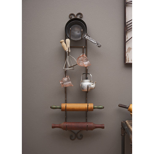 Wildon Home   6 Bottle Wall Mounted Wine Rack