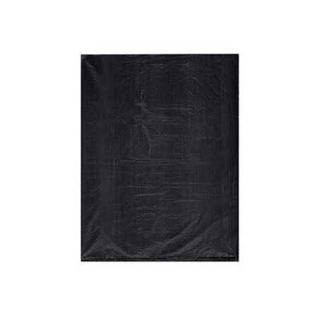 "Small High Density Black Plastic Merchandise Bags - 8½""W x 11""H  - Case of - High Density Plastic Bag"