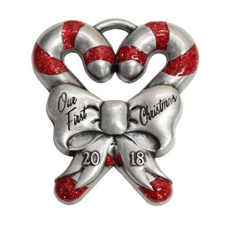- Gloria Duchin First Christmas Candy Cane Ornaments