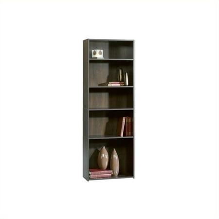 Sauder Beginnings 5-Shelf Bookcase in Cinnamon Cherry - image 2 de 2