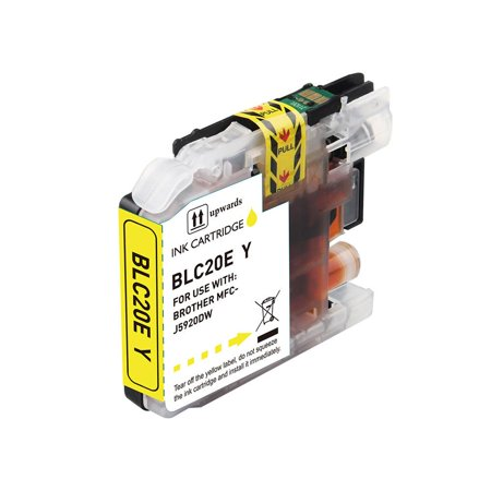 Compatible Brother LC20E Yellow Ink Cartridge by Superink - image 1 de 1