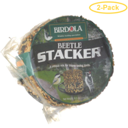 Birdola Beetle Stacker Seed Cake 6.5 oz - Pack of 2