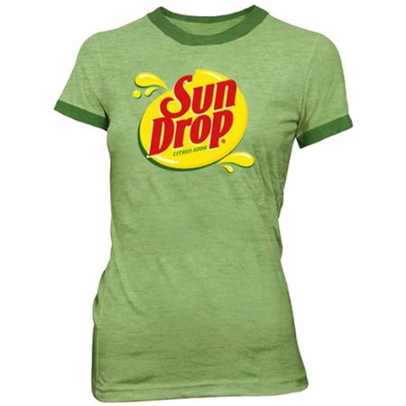 Sun Drop Citrus Soda Green Costume Juniors T-Shirt