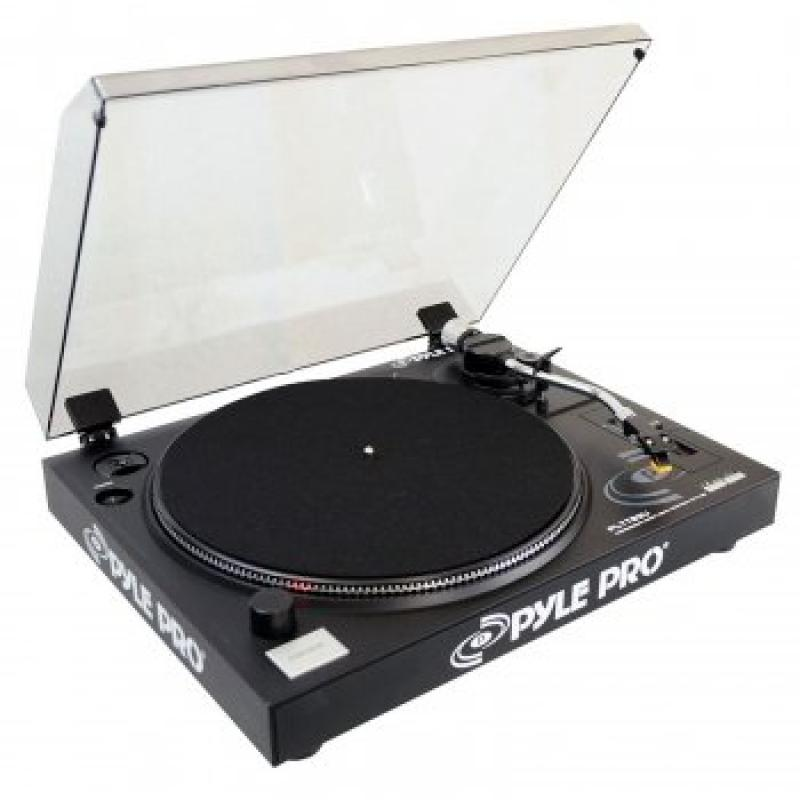 Pyle 1 - Belt-Drive USB Turntable with Digital Recording ...