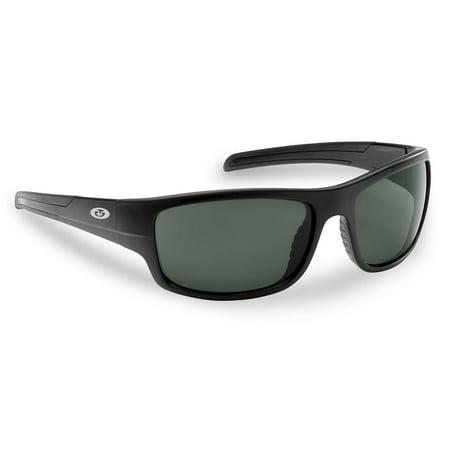 Flying Fisherman 7709BS Shoal Sunglasses, Matte Black (Cheap Sunglasses Outlet)