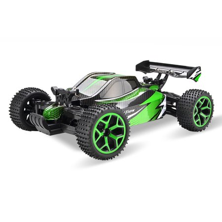 - 1/18 Scale Electric RC Racing Car Off Road Truck 2.4Ghz 4WD Extreme Speed Buggy