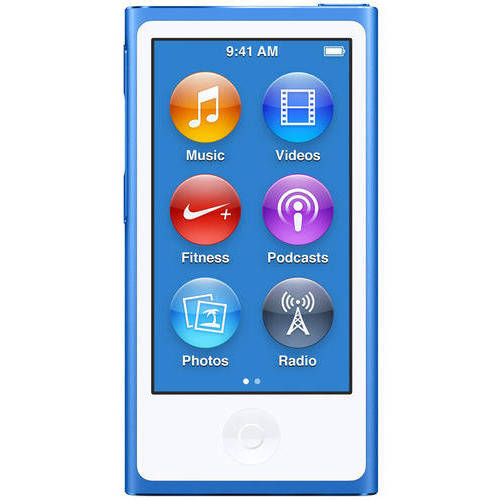 Refurbished Apple iPod nano 16GB, Blue