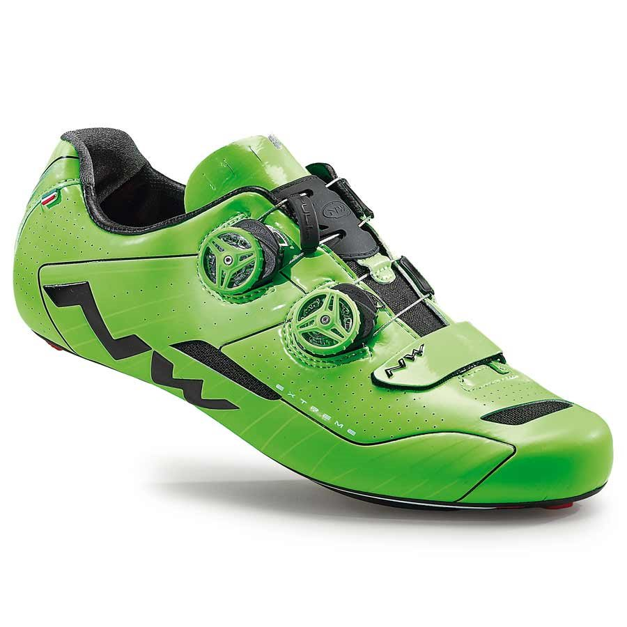 Northwave, Extreme, Road shoes, Green Fluo, 39.5