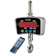CAS IE-1000E IE Series Economy Digital Crane Scale  1000lb x 0 5 lb LED