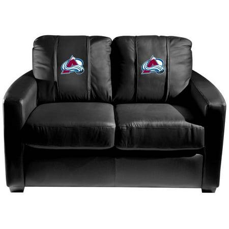 Colorado Avalanche NHL Silver Love Seat