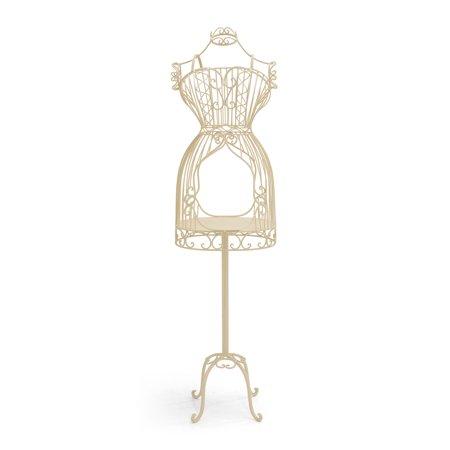 Dressmaker Form - Boutique Ivory Accessory Metal Dressmaker form