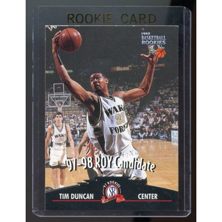 1997 Score Board Rookies 57 Tim Duncan Roy Rookie Card