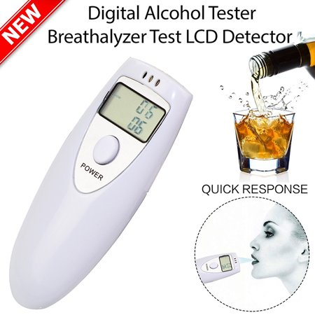 Personal Breath Alcohol Tester Safe Drive Digital Breath Alcohol Tester Portable Breathalyzer with LCD Display