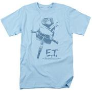 ET the Extra Terrestrial Bike Mens Short Sleeve Shirt
