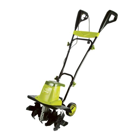 Sun Joe TJ603E Electric Garden Tiller/Cultivator | 16-Inch | 12 (Best Rototiller For Large Garden)