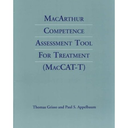MacArthur Competence Assessment Tool for Treatment :