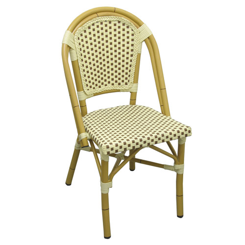 DHC Furniture Aluminum Two Tone Outdoor Chair